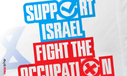 Support Israel - Fight Occupation